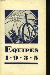 Equipes 1935. Bulletin De Methode Des Equipes Sociales. - Couverture - Format classique