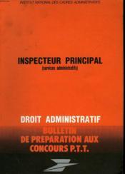 Bulletins De Preparation Aux Concours P.T.T - Couverture - Format classique