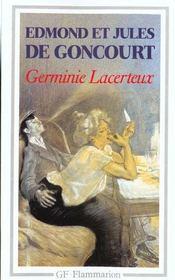 Germinie Lacerteux - 4ème de couverture - Format classique