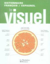 Dictionnaire visuel français/ espagnol - Intérieur - Format classique