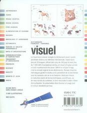 Dictionnaire visuel français/ espagnol - 4ème de couverture - Format classique