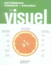 Dictionnaire visuel français/ espagnol - Couverture - Format classique