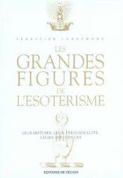 Grandes Figures De L'Esoterisme (Les) - Intérieur - Format classique