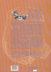 L'Etude Des Restes Humains Fossiles De La Chaise Abris Bourgeois - 4ème de couverture - Format classique