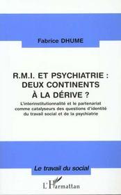 RMI et psychiatrie ; deux continents à la dérive - Intérieur - Format classique