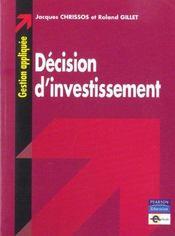 Choix d'investissement - Intérieur - Format classique