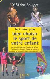 Tout Savoir Pour Bien Choisir Le Sport De Votre Enfant - Intérieur - Format classique