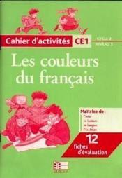 Cahier D'Activites Ce1 Cycle 2/Niveau 3 - Couverture - Format classique