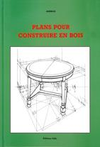 Plans pour construire en bois - Couverture - Format classique