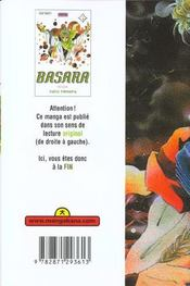 Basara t.4 - 4ème de couverture - Format classique
