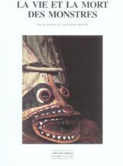 La vie et la mort des monstres - Couverture - Format classique