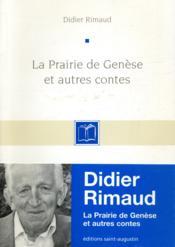 Prairie De Genese Et Contes - Couverture - Format classique