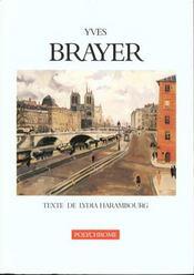 Yves Brayer. Texte De Lydia Harambourg - Intérieur - Format classique