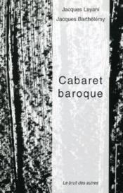 Cabaret baroque - Couverture - Format classique