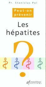 Peut on prevenir l'hepathite c et ses complications - Intérieur - Format classique