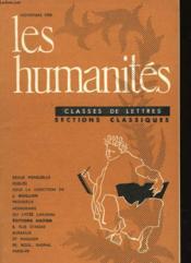 Les Humanites Classes De Lettres - Section Classique - Couverture - Format classique