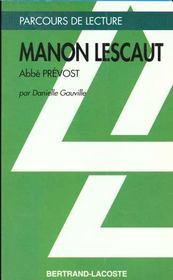 Manon Lescaut, de Prévost - Intérieur - Format classique
