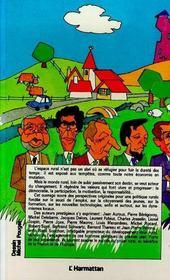 Projet Rural (Le) - 4ème de couverture - Format classique