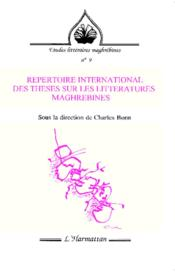 Repertoire International Des Theses Sur Les Litterat - Couverture - Format classique
