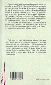 Flocons De Soi - 4ème de couverture - Format classique