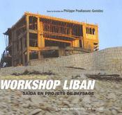 Workshop au liban ; saïda en projets de paysage - Intérieur - Format classique