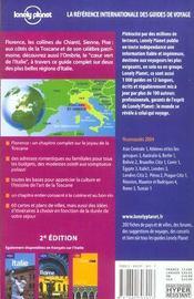 Toscane Et Ombrie - 4ème de couverture - Format classique