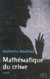 Mathematique Du Crime - Intérieur - Format classique