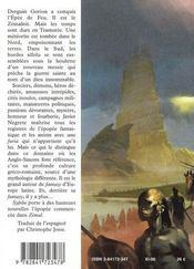Chronique de tramorée livre 2 ; syfrõn, l'esprit du mage - 4ème de couverture - Format classique