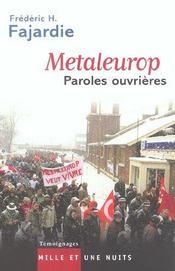Metaleurop - Intérieur - Format classique