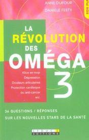 La revolution des omega 3 - Intérieur - Format classique