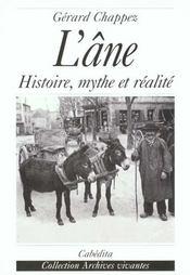 L'Ane Histoire,Mythe Et Realite - Intérieur - Format classique