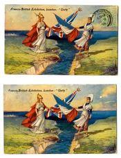 L'entente cordiale ; cent ans de relations culturelles franco-britanniques - Intérieur - Format classique