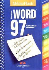 Word 97. Mémento - Couverture - Format classique