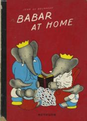 Babar At Home - Couverture - Format classique