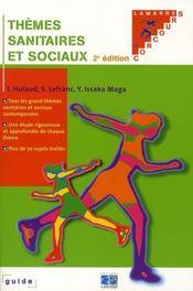 Thèmes sanitaires et sociaux (2e édition) - Intérieur - Format classique