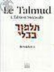 Talmud t.10 - Couverture - Format classique