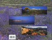 Provence, Le Bonheur Sortait Des Pierres - 4ème de couverture - Format classique