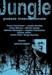Revue Jungle N.19 ; Gaston Miron - Couverture - Format classique