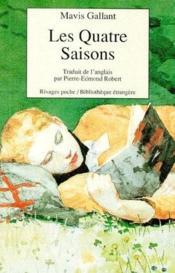 Les Quatre Saisons - Couverture - Format classique