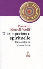 Philosophie De La Conscience - Couverture - Format classique