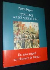 Etat face au pouvoir local - Couverture - Format classique