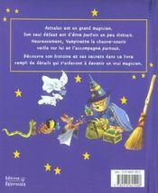 Astralus le petit ours magicien - 4ème de couverture - Format classique