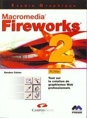 Studio graphique fireworks 2 - Intérieur - Format classique
