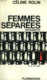 Femmes Separees. - Couverture - Format classique