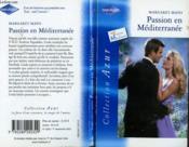 Passion en Méditerranée - Couverture - Format classique