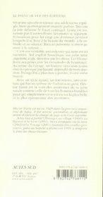 La Beaute Du Monde - 4ème de couverture - Format classique