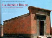 La chapelle rouge ; le sanctuaire de barque d'hatshepsout - Intérieur - Format classique