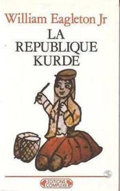 République kurde - Couverture - Format classique