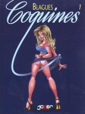 Blagues Coquines T.1 - Couverture - Format classique