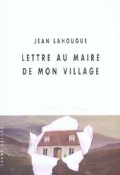 Lettre Au Maire De Mon Village - Intérieur - Format classique